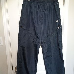 Starter track windbreaker vintage pants